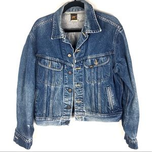 Vintage lee trucker jean jacket P9